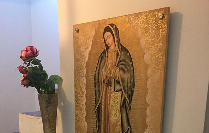 Cuadros de la Virgen de Guadalupe